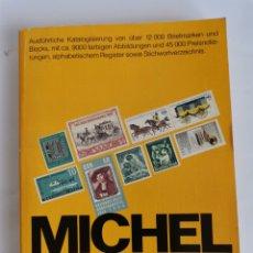 Sellos: MICHEL BRIEFMARKEN-KATALOG DEUTSCHLAND 89/90. Lote 260828350