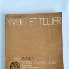 Sellos: CATALOGUE YVERT ET TELLIER TIMBRES SELLOS 1983. Lote 260835700