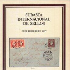 Sellos: SOLER Y LLACH 1997 SUBASTA INTERNACIONAL.SE OFERTA UNA COLECCIÓN DE FALSOS POSTALES DE CUBA. Lote 261934105