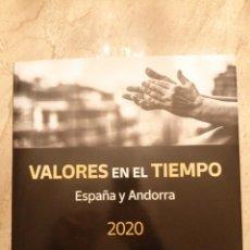 Sellos: LIBRO VALORES EN EL TIEMPO 2020 SIN SELLOS. Lote 262020595