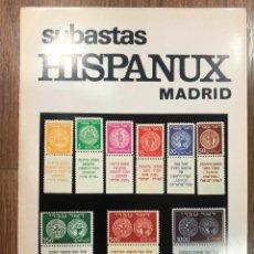 Sellos: SUBASTAS HISPANUX MADRID - 7 Y 8 DE MARZO DE 1983 / MUNDI-3811. Lote 263656975