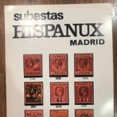 Sellos: SUBASTAS HISPANUX MADRID - 1ª SUBASTA POR CORRESPONDENCIA , 22 DE NOVIEMBRE DE 1982 / MUNDI-3812. Lote 263657315