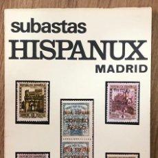 Sellos: SUBASTAS HISPANUX MADRID - 22 Y 23 OCTUBRE 1975 / MUNDI-3814. Lote 263658105
