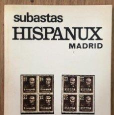 Sellos: SUBASTAS HISPANUX MADRID - 29 Y 30 MAYO 1980 / MUNDI-3815. Lote 263658280