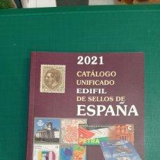 Francobolli: EDIFIL 2021 CATÁLOGOS UNIFICADO SELLOS ESPAÑA PRECIOS FOTOS 1850/2021. Lote 265913463
