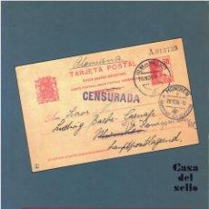 Sellos: CATÁLOGO ESPECIALIZADO DE ENTEROS POSTALES DE ESPAÑA COLONIAS Y DEPENDENCIAS.ÁNGEL LAIZ. Lote 266927799