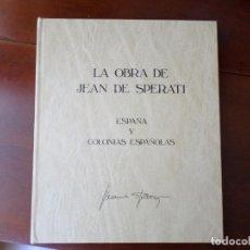 Sellos: LA OBRA DE JEAN DE SPERATI, 1983, EN PERFECTO ESTADO, VER DESCRIPCION Y FOTOS ADICCIONALES. Lote 268035069