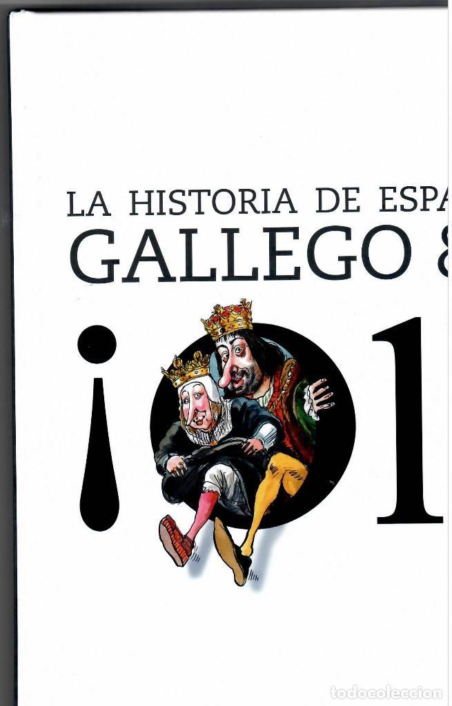 LIBRO HISTORIA DE ESPAÑA POR GALLEGO Y REY AÑOS 2000 Y 2001 (Filatelia - Sellos - Catálogos y Libros)