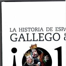 Francobolli: LIBRO HISTORIA DE ESPAÑA POR GALLEGO Y REY AÑOS 2000 Y 2001. Lote 268303854