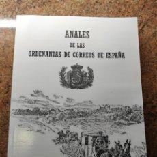 Sellos: ANALES DE LAS ORDENANZAS DE CORREOS DE ESPAÑA. Lote 269163333