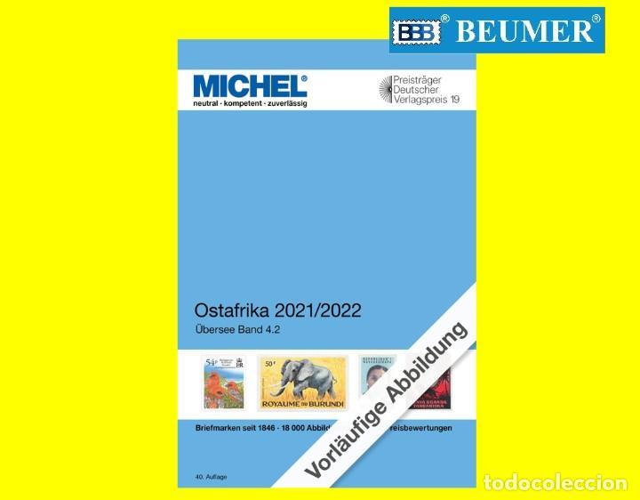 CATÁLOGO MICHEL DE PAÍSES DE AFRICA DEL ESTE.EDICIÓN 2021/2022 (Filatelia - Sellos - Catálogos y Libros)