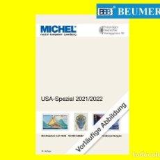 Sellos: CATÁLOGO MICHEL, ESPECIALIZADO DE ESTADOS UNIDOS (U.S.A.). EDICIÓN 2021-2022. Lote 274761343