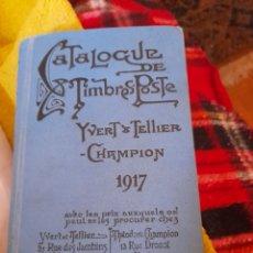 Sellos: CATÁLOGO DE TIMBRES POSTALES CHAMPION DE 1917. Lote 276140168