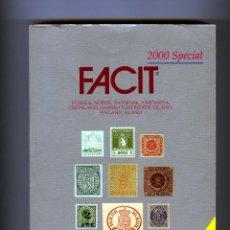 Sellos: CATALOGO DE SELLOS =ESPECIAL PAISES NORDICOS - FACIT=PAGINAS 784=AÑO 2000 .. Lote 284224998