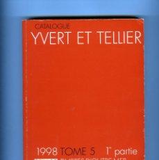 Sellos: DOS TOMOS SELLOS IVERT&TELLIER=TIMBRES DE ULTRAMAR 1ª Y 2ª PARTE=TOMO 5-AÑO 1998- LEER DESCRIPCION .. Lote 284238103