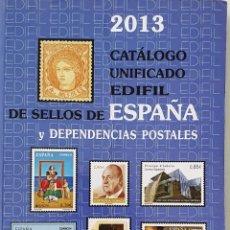 Francobolli: CATALOGO UNFICADO EDIFIL DE SELLOS DE ESPAÑA Y DEPENDENCIAS POSTALES. 2013... Lote 287066103