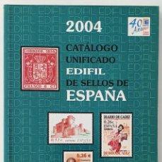 Francobolli: CATALOGO UNFICADO EDIFIL DE SELLOS DE ESPAÑA. 2004.. Lote 287066333