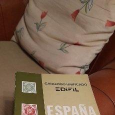Sellos: CATÁLOGO DE SELLOS UNIFICADO EDIFIL 1979. ESPAÑA Y DEPENDENCIAS POSTALES. IMPRESO POR OFFO S.L.. Lote 288119368
