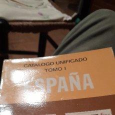 Sellos: CATÁLOGO DE SELLOS UNIFICADO EDIFIL 1984. TOMO I; ESPAÑA. IMPRESO POR OFFO S.L.. Lote 288119808