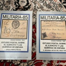 Sellos: MILITARIA 85 TOMO I Y II. Lote 290035428