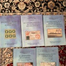 Sellos: BIBLIOTECA ESPECIALIZADA DE LA RAHF E HP TOMOS III-VII. Lote 290036433