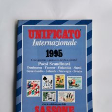 Sellos: UNIFICATO INTERNAZIONALE PAESI SCANDINAVI 1995 CATALOGO SELLOS ESCANDINAVOS TIMBRES STAMPS. Lote 291991528