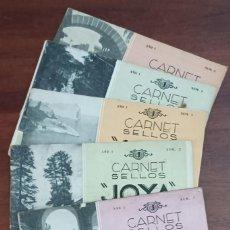 Francobolli: 4 CARNETS JOYA DE SELLOS 1933 4 PRIMEROS EJEMPLARES. SIN SELLOS. Lote 292534153