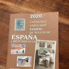 Sellos: CATÁLOGO SELLOS EDIFIL 2020 ESPAÑA Y DEPENDENCIAS POSTALES. Lote 295536033