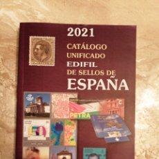 Sellos: CATALOGO DE SELLOS DE ESPAÑA EDICION 2021. Lote 295702748