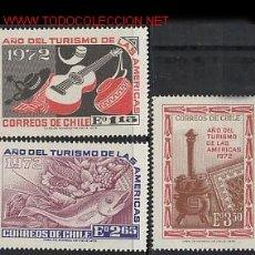 Sellos: CHILE 1972. TURISMO. Lote 2256243