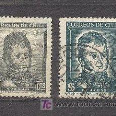 Sellos: CHILE, HIGGINS, 2 SELLOS USADOS. Lote 18559038