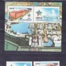 Sellos: CHILE 1108/9, HB 40 SIN CHARNELA, PABELLON, EXPO 92 EXPOSICION UNIVERSAL SEVILLA 1992. Lote 25556375