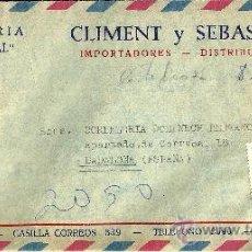 Sellos: SOBRE CIRCULADO DE CHILE CON 5 SELLOS Y MATASELLOS - 1977. Lote 27304763