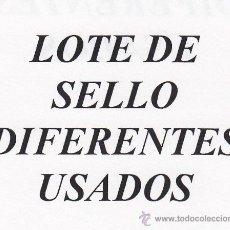 Sellos: .LOTE CHILE DE 50 SELLOS DIFERENTES USADOS. Lote 171414269