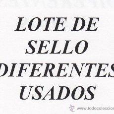 Sellos: .LOTE CHILE DE 25 SELLOS DIFERENTES USADOS. Lote 171414298