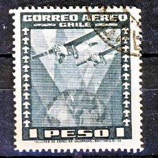 Sellos: CHILE.- CORREO AEREO.-. Lote 30362675