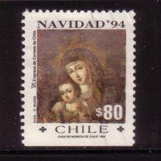 Sellos: CHILE 1234A - AÑO 1994 - NAVIDAD - PINTURA RELIGIOSA. Lote 33745382