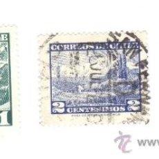 Briefmarken - LOTE DE 3 SELLOS USADOS DE CHILE. - 33939059