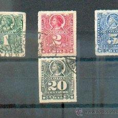 Sellos: CHILE .- EMISIONES DE COLÓN .- 1878/99. Lote 40683854