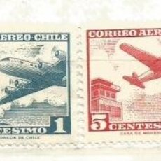 Sellos: CHILE CORREO AÉREO.. Lote 41328420