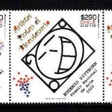 Sellos: CHILE 1929/31** - AÑO 2010 - BICENTENARIO DE LA INDEPENDENCIA DE CHILE - PINTURA. Lote 44050761