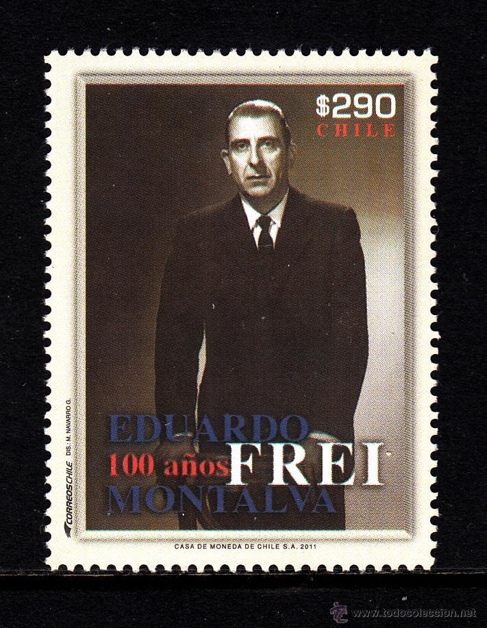 CHILE 1983** - AÑO 2011 - EDUARDO FREY, PRESIDENTE DE CHILE DE 1964 A 1970 (Sellos - Extranjero - América - Chile)