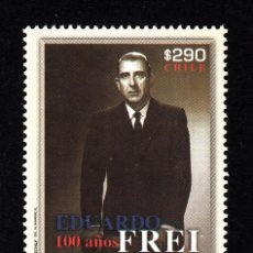 Sellos: CHILE 1983** - AÑO 2011 - EDUARDO FREY, PRESIDENTE DE CHILE DE 1964 A 1970. Lote 44058332