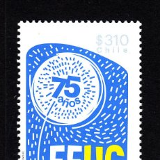 Sellos: CHILE 2030** - AÑO 2013 - 75º ANIVERSARIO DE LA FEDERACION DE ESTUDIANTES UNIVERSITARIOS CHILENOS. Lote 44058896