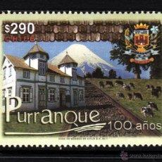 Sellos: CHILE 1982** - AÑO 2011 - CENTENARIO DE LA CIUDAD DE PURRANQUE. Lote 44064994