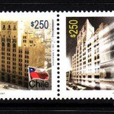 Sellos: CHILE 1782/83** - AÑO 2007 - 90º ANIVERSARIO DEL PERIODICO LA NACION. Lote 44115877