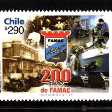 Sellos: CHILE 1991** - AÑO 2011 - BICENTENARIO DE FAMAE. Lote 44148745