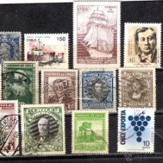Briefmarken - LOTE DE SELLOS USADOS DE CHILE - 46788147
