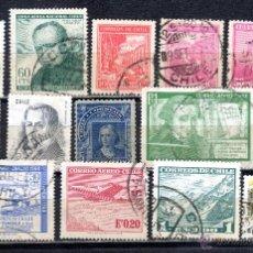Briefmarken - LOTE DE SELLOS USADOS DE CHILE - 46788162