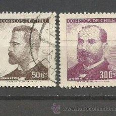 Sellos: CHILE YVERT NUM. 314/5 SERIE COMPLETA USADA. Lote 47508980